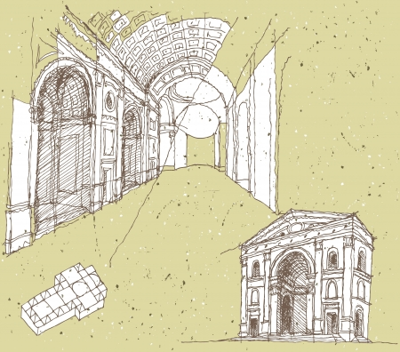 memorable: Sketching Historical Architecture in Italy: Mantua