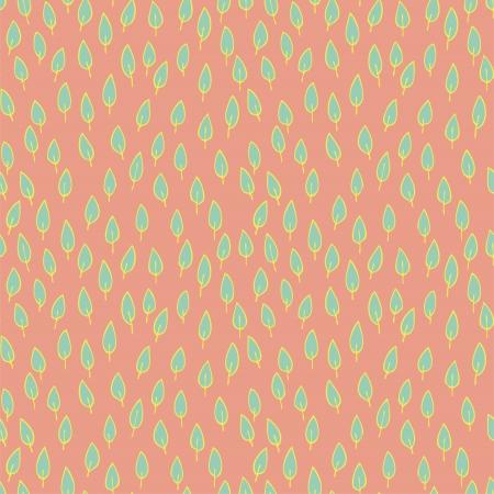 r�p�titif: Feuilles Seamless (r�p�titif) sur fond rose.