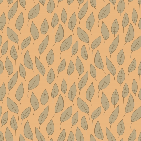 repetitive: Leaves Seamless Pattern (repetitive) on pink background.   Illustration