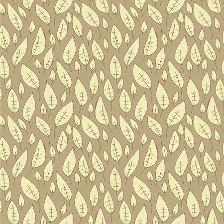 repetitive: Falling Leaf Seamless Pattern  repetitive  on grey background