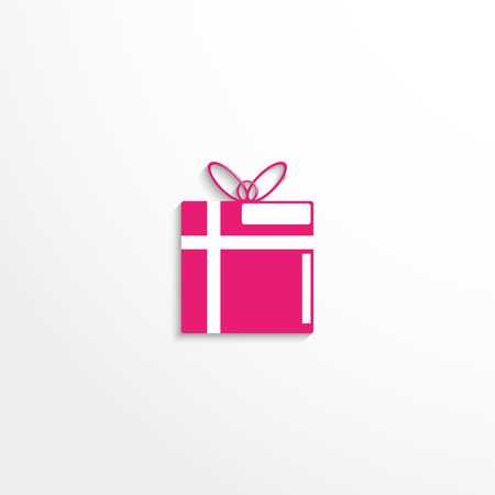 wrap: Gift wrap. Vector icon. Illustration