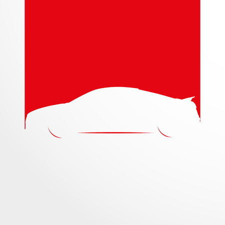 Car. Symbol. Vector illustration.