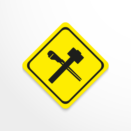 Symbol. Repair. Vector icon.
