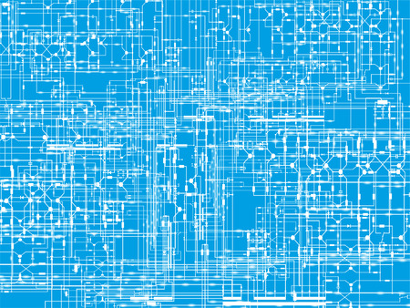 Schematic diagrams. Abstract background. Vector illustration.