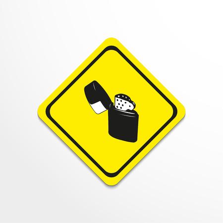 Lighter. Vector illustration. Illustration