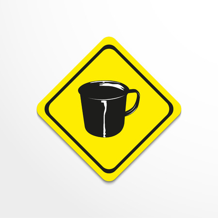 Cup. Vector illustration.