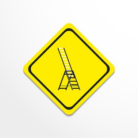 Ladder. Vector icon.