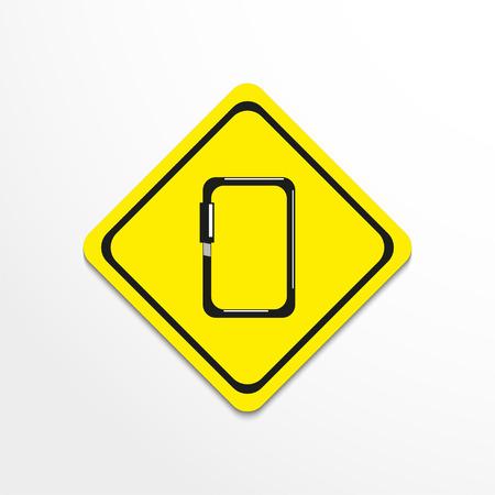 Carbine. Symbol. Vector icon.