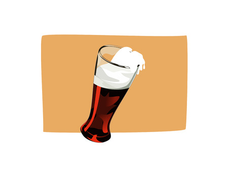 coolness: beer Illustration