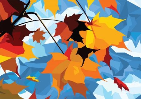 gale: autumn leaves maple