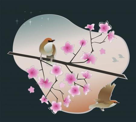 florescence: spring Illustration