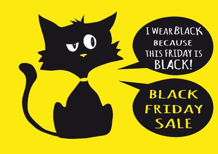 cynical: One black cynical kitten.