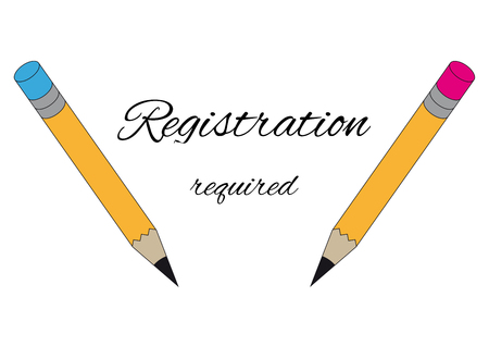 Two graphite pencils and text registration required