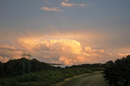 unusually: unusually clouds