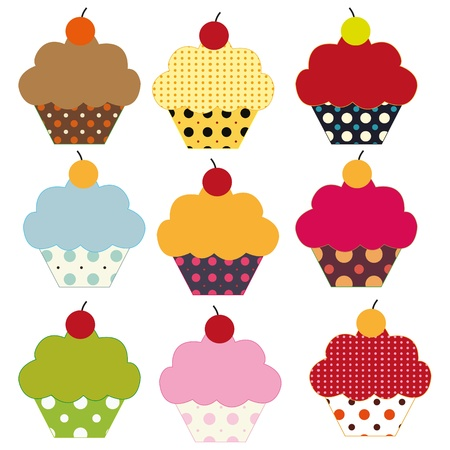 Cupcakes Stock Photo - 9685082