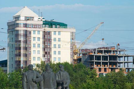 build up: Novosibirsk build up