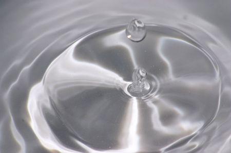 Drop of water Stock Photo