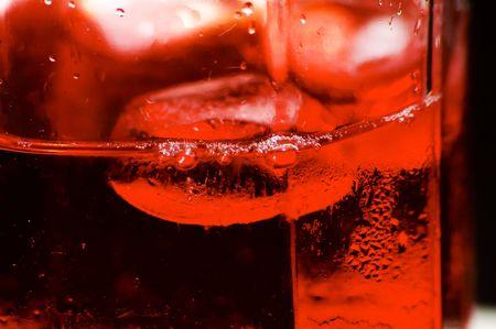 氷のドリンク