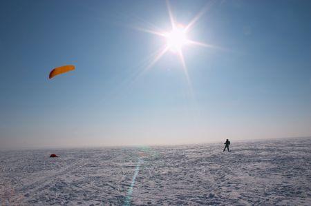 カイトのスキー