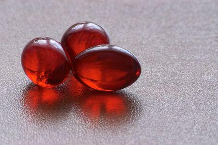 gelatine: Gelatine vitamine pills