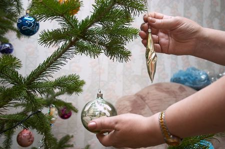 trumpery: During decorating of Christmas tree