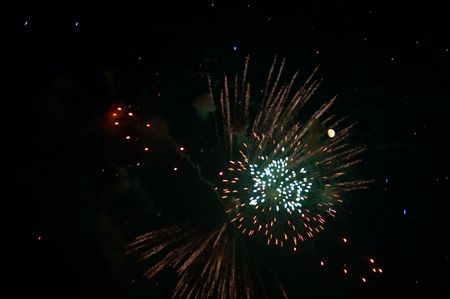 pyrotechnic displays: Festive firework