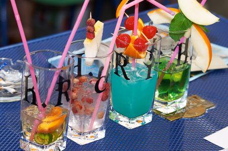 barmen: Barmen contest. After jury tasting. Novosibirsk. 16 July 2006