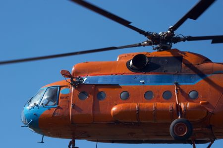 aerodrome: Airshow in the Mochishe aerodrome, Novosibirsk Stock Photo