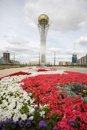astana: Baiterek landmark, symbol of Astana, capital of Kazakhstan