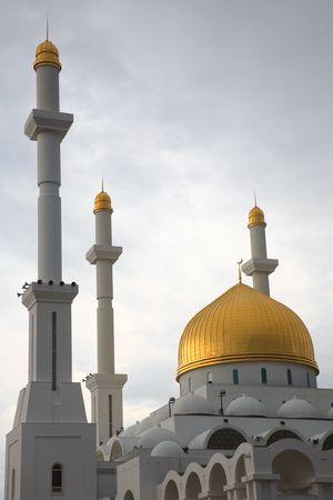 astana: Mosque at the Astana, capital of the Kazakhstan Republic