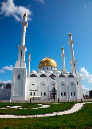 astana: Mosque. Islam center. Astana, capital of Kazakhstan Republic.