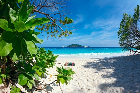 Similan Islands on Andaman sea
