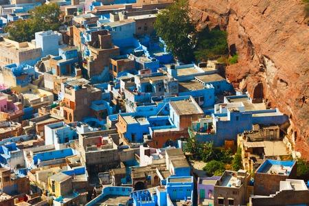 density: Aerial view of Jodhpur  Rajasthan, India