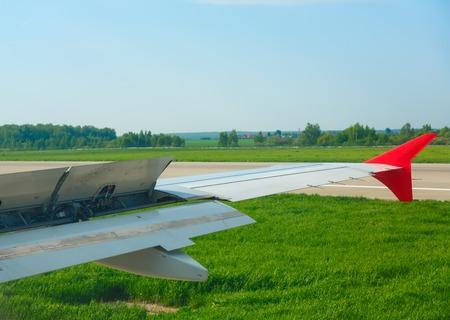 braking: Braking after landing