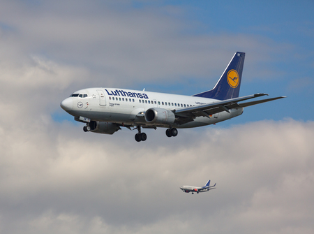 Boeing 737 and storm