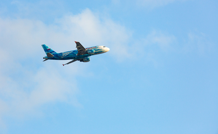 Airbus A319 Rossiya in the sky
