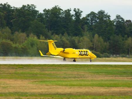 Learjet 60XR Aero-Dienst takes off Redakční