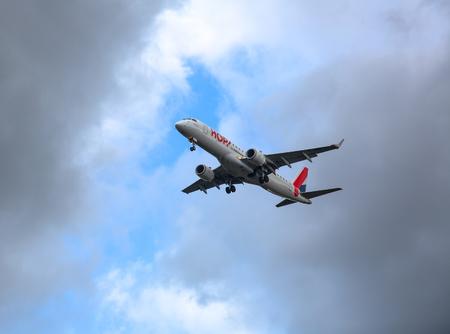 Embraer HOP! approach