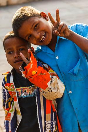 Indian boys portrait