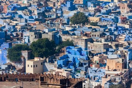 Blue City in India 免版税图像