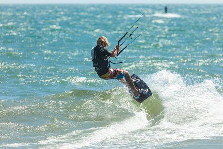 Professional Kitesurf Jumping Vietnam