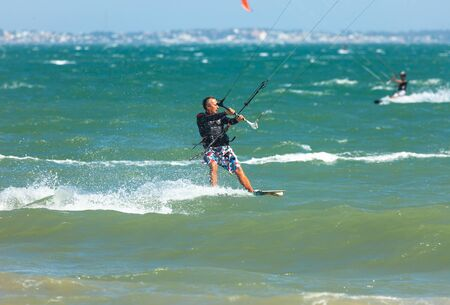 Kitesurfing in Vietnam