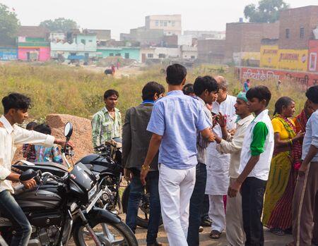 Indian people in delhi