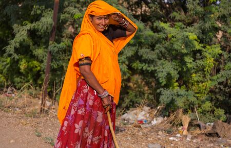 Indian women in traditional dress