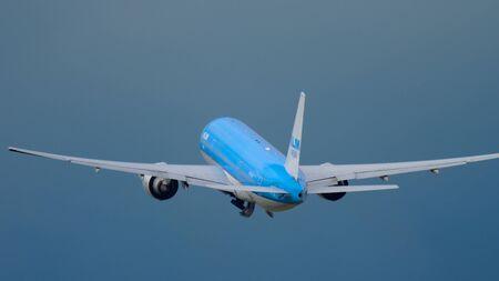 KLM Boeing 777 departure