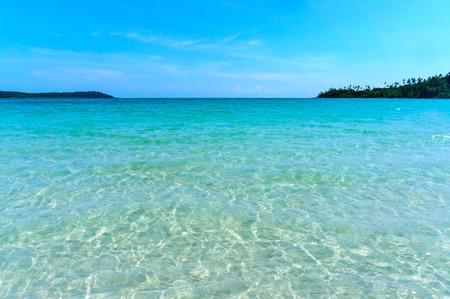 Sea water of Koh Kood, Koh Kood, Thailand sea photo