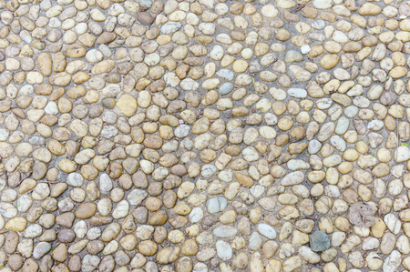 floor made by Gravel on concrete photo
