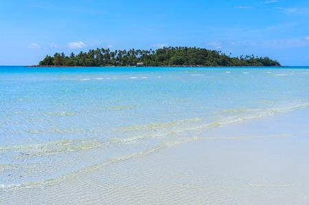 Meerwasser von Koh Kood, Koh Kood, Thailand Meer Standard-Bild