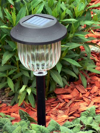 electric cell: Solar cell lamp