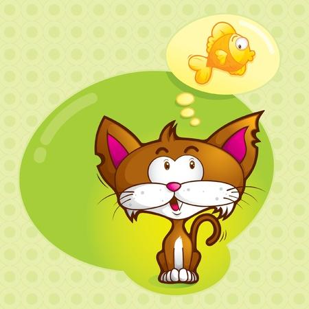 imaginar (lindo gato)